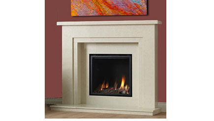 Apex Fires - Cirrus gas suite - high efficiency gas fire