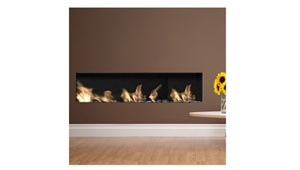 Apex Fires - Liberty 10 - trimless frameless gas fire