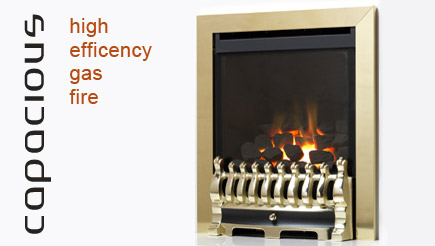 Apex Fires - Capacious - high efficiency gas fire